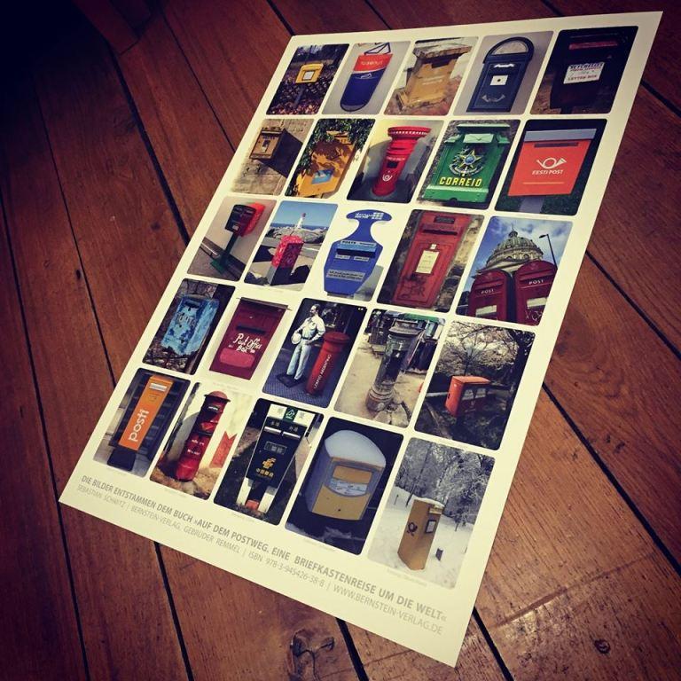 Briefkasten Poster